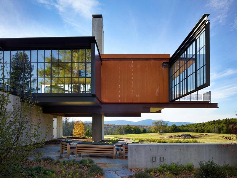 Berkshires Residence By Olson Kundig Massachusetts Us